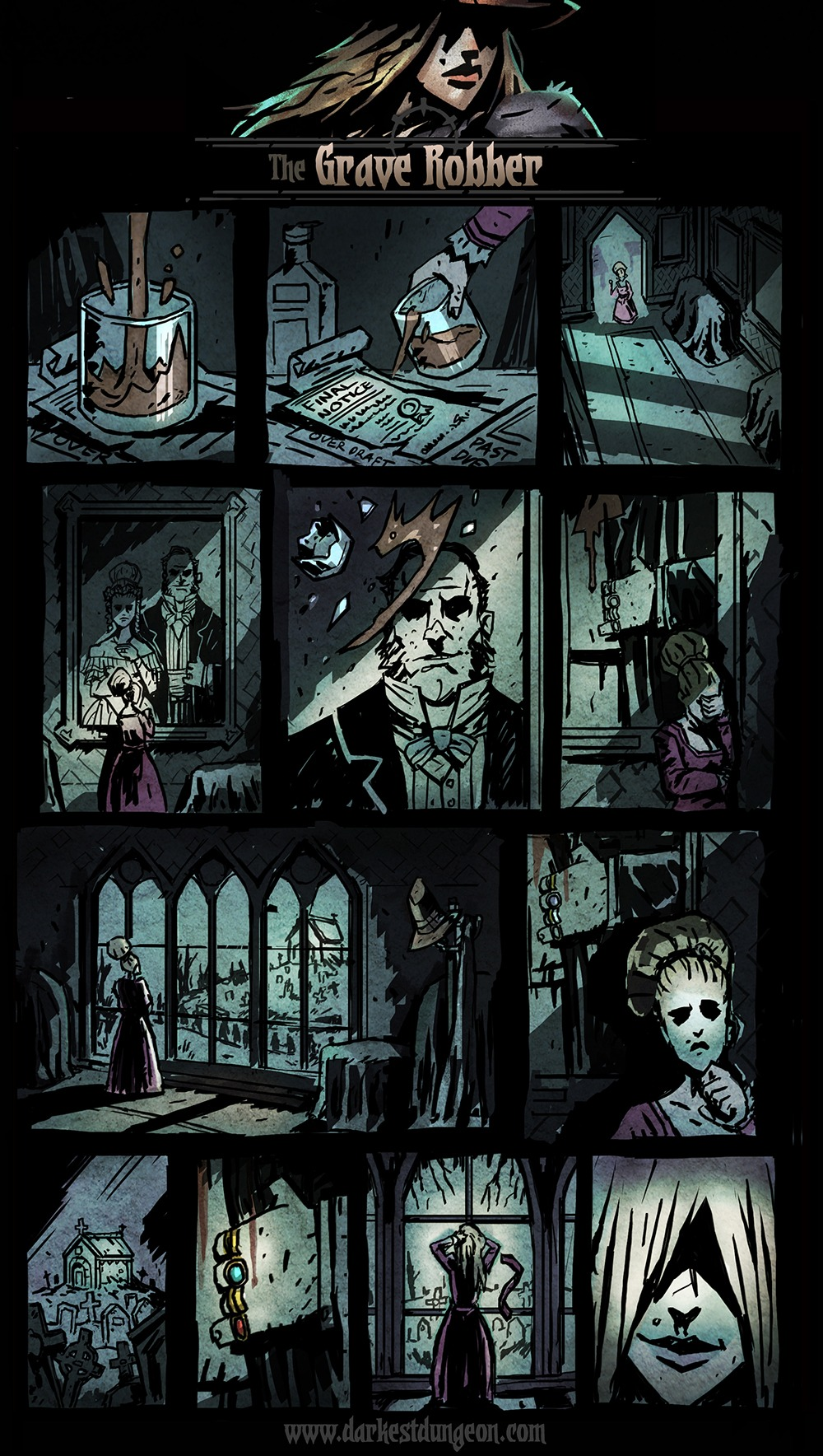 Darkest Dungeon Presents: The Grave Robber