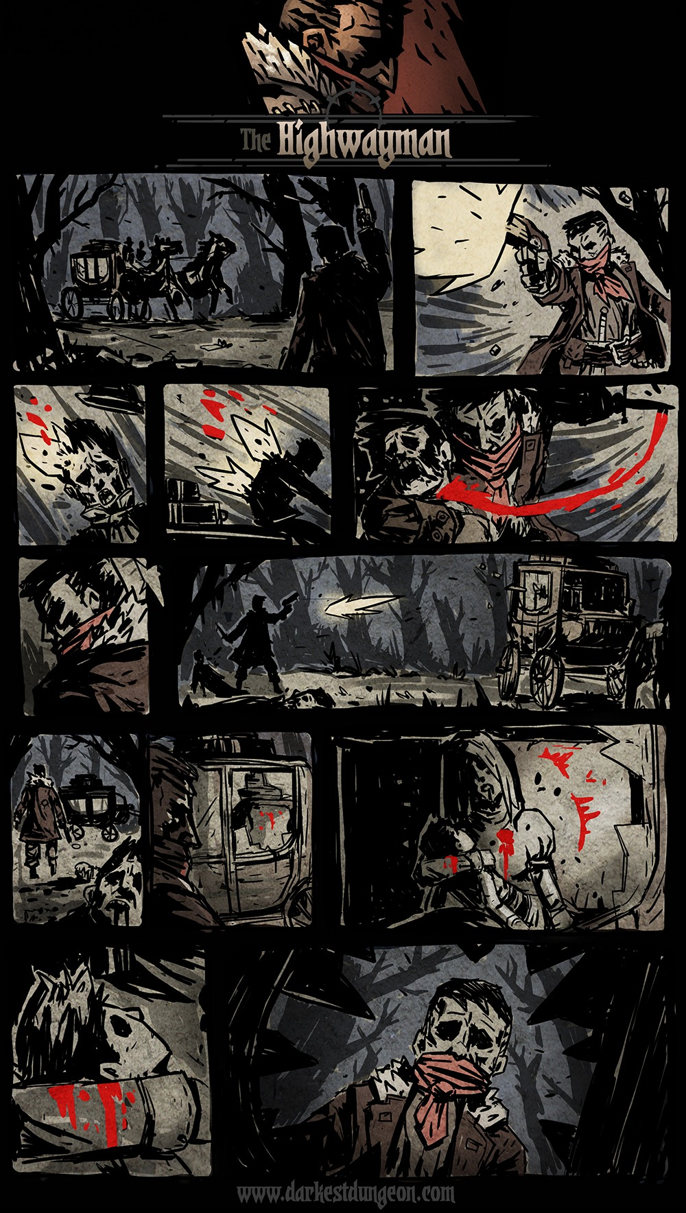 Darkest Dungeon Presents - The Highwayman
